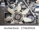 part of car engine | Shutterstock . vector #174620426