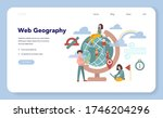 web geography concept web... | Shutterstock .eps vector #1746204296