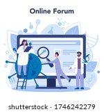 virologist online service or... | Shutterstock .eps vector #1746242279