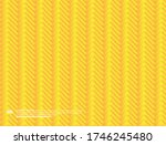 3d yellow abstract background.... | Shutterstock .eps vector #1746245480