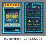 birthday party invitation in... | Shutterstock .eps vector #1746252776