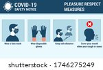 coronavirus covid 19 safety...   Shutterstock .eps vector #1746275249