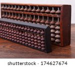 Two Antique Japanese Abacus...