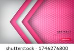 abstract luxury white and pink... | Shutterstock .eps vector #1746276800