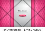 abstract luxury white and pink... | Shutterstock .eps vector #1746276803