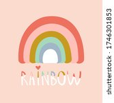 creative rainbow illustration...   Shutterstock .eps vector #1746301853