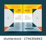 brochure cover triangles and... | Shutterstock .eps vector #1746306863