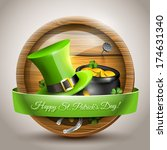 st patrick's day   vector icon... | Shutterstock .eps vector #174631340