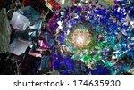 Multihued Crystal Cavern