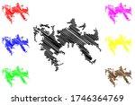 la spezia city  italian... | Shutterstock .eps vector #1746364769