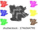 krefeld city  federal republic... | Shutterstock .eps vector #1746364790