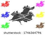 krasnoyarsk city  russian... | Shutterstock .eps vector #1746364796