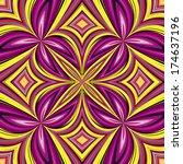 african pattern. trendy ethnic... | Shutterstock .eps vector #174637196