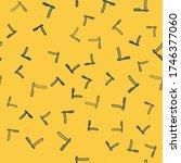 blue line straight razor icon... | Shutterstock .eps vector #1746377060