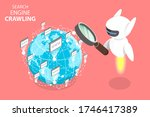 3d isometric flat concept of... | Shutterstock . vector #1746417389