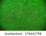 green grass natural background. ... | Shutterstock . vector #174641798