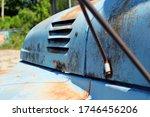 Closeup Part Of An Old Truck....