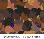 seamless pattern of many... | Shutterstock .eps vector #1746457856