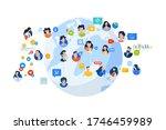 flat design style illustration... | Shutterstock .eps vector #1746459989