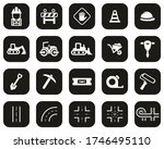 road construction icons white... | Shutterstock .eps vector #1746495110