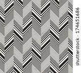abstract herringbone seamless... | Shutterstock .eps vector #174651686