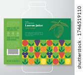 fruit and vegetables pattern...   Shutterstock .eps vector #1746519110