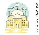 mohamed ali's egyptian muslim...   Shutterstock .eps vector #1746519500