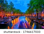 Evening By The Canal In City O...