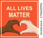 All Lives Matter Banner With...