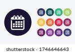 calendar vector symbols icons...
