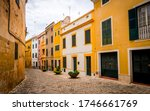Quaint Narrow Alley With...