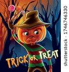 nightmare trick or treat... | Shutterstock .eps vector #1746746330