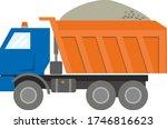 Construction Machinery  Orange...