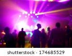 music concert background blur   Shutterstock . vector #174685529