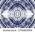 navy blue tie dye background | Shutterstock .eps vector #1746863906