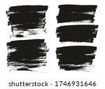 flat paint brush thin full... | Shutterstock .eps vector #1746931646