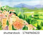 Rural Landscape In Italy....