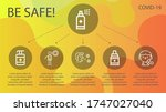 wuhan line icon set on theme... | Shutterstock .eps vector #1747027040