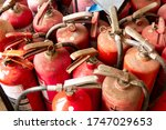 components of old fire... | Shutterstock . vector #1747029653