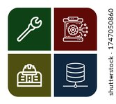 set of settings icons. such as... | Shutterstock .eps vector #1747050860