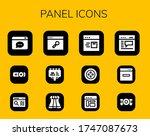 modern simple set of panel...