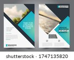 flyer template. brochure design.... | Shutterstock .eps vector #1747135820