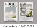 brochure design. flyer template.... | Shutterstock .eps vector #1747135823