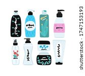 vector cosmetic products.... | Shutterstock .eps vector #1747153193
