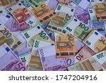 A Big Amount Of Euro Money...