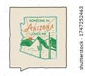 vintage adventure arizona badge ... | Shutterstock .eps vector #1747252463