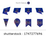 north dakota us state flag... | Shutterstock .eps vector #1747277696