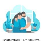 vector flat illustration... | Shutterstock .eps vector #1747380296