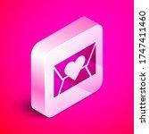 isometric envelope with...   Shutterstock .eps vector #1747411460