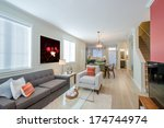 interior design of a luxury... | Shutterstock . vector #174744974